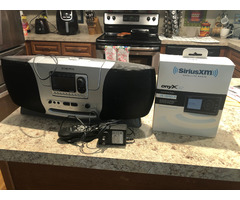two XM radios for sale